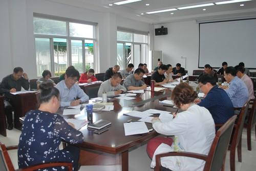 """县委党校组织开展""""两学一做""""集中学习"""